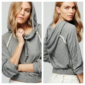 Free People Kimmie Hooded Pullover